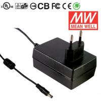 GS18E15-P1J 18W 15V1.2A 绿色能源欧规明纬墙插电源适配器