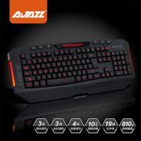 黑爵黑暗骑士3色背光键盘 机械手感游戏键盘 lol电竞键盘