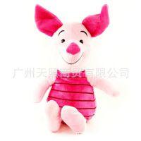 迪士尼正品可爱的皮吉猪猪公仔儿童礼品毛绒玩具猪