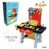 厂家批发 塑料工具台 儿童仿真过家家玩具 套装益智早教 亲子组合