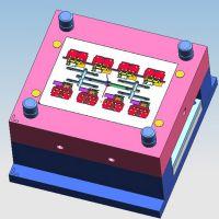 ABS接线端子塑料模具开发  UK接线端子排注塑加工