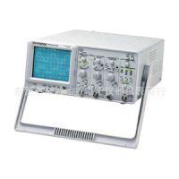 供应台湾固纬GOS-6103C示波器100MHz六位计频器无维修史 (图)
