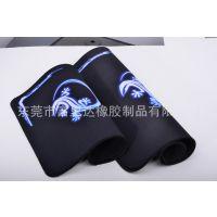 火飞虎 防滑橡胶鼠标垫 高档网格布包边 加大操控板游戏鼠标垫