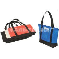 加固带兜无纺布手提袋 广告袋订制礼品袋定做服装包装袋