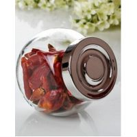 透明玻璃瓶 扁鼓玻璃瓶 花茶瓶调料瓶杂粮瓶储物瓶罐 厨房储物瓶