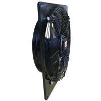 RAQ系列壁式轴流风机 边墙安装 直联驱动 大流量中低压通风场合