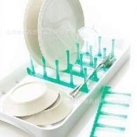 厨房用品 多用沥水碗碟架 排水盘 杯架 B464G