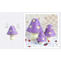 zakka蘑菇森林系列摆件批发迷你3件套和风小物