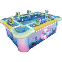 供应深海总动员标准摇杆版 NEW-003 6人钓鱼视频游戏 日东动漫科技游乐设备