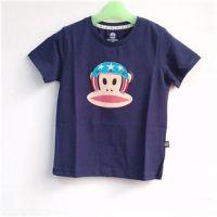 供应大嘴猴亲子装童装t恤 大嘴猴圆领短袖 大嘴猴T恤加盟