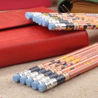 联众【正品特价】学生文具木质迪士尼米奇铅笔批发12支装DM0199-2