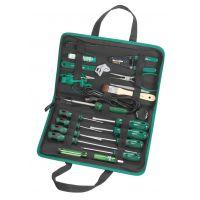 SATA世达 电工电子手动工具 正品行货19件套电脑维修组套 03770