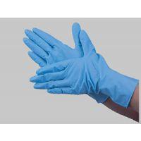 一次性9寸蓝色丁腈净化手套 食品无尘车间千级净化丁晴手套
