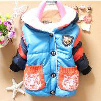 婴儿装新款冬装2013 男童加厚棉衣外套 网络分销代理 实体加盟