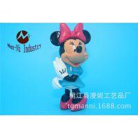 迪士尼玩具 PVC塑胶公仔  卡通立体动漫硬胶公仔 注塑公仔