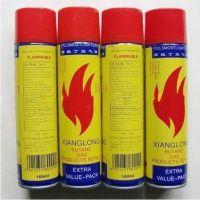 160ML 打火机专用正品丁烷 红色塑料口(火机通用)