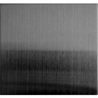 专业生产水镀黑钛拉丝不锈钢板 哑光拉丝黑钛不锈钢板 201黑钛拉丝无指纹不锈钢