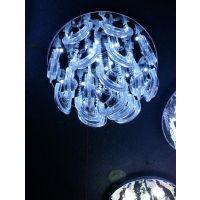 供应供应现代简约LED吸顶灯水晶灯客厅灯卧室灯餐厅灯饰灯具