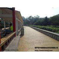 供应彩色透水混凝土,压印地坪--辽宁中城筑景