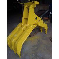 现代R130 140 150挖掘机抓木器