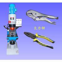 瑞威特径向铆接机,大力钳铆接机,立式径向旋铆机,液压旋铆机,五金加工生产设备