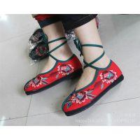 2013款千层底绣花鞋.手工布鞋.休闲鞋.跳舞鞋.民族风绣花鞋