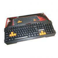 键盘批发 海貂HK-500时尚防水键盘 游戏键盘 USB接口