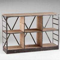 多层隔板实木置物架 家用多功能厨房置物架落地实木收纳层架 定制