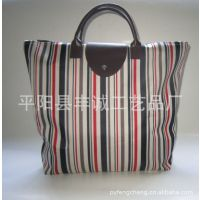 厂家供应 购物折叠包 印花手提包 女士手提包