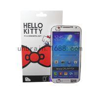 批发手机保护膜三星S4/I9500珍珠皮彩色保护膜手机卡通贴膜