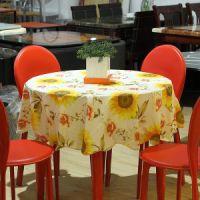 外贸高档圆桌布 布艺防水 免洗台布 加厚 欧式直径152cm 8款可选