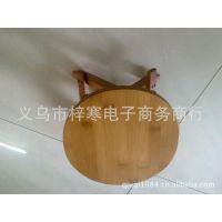 旅游工艺品批发/竹凳子/折叠圆椅子/小圆凳子/竹碳化凳子82104