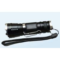 供应迷你大功率led充电小手电 t6远射变焦手电筒10W