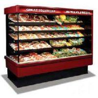 上海厂家供应点菜冷藏柜/厂家直销厨房麻辣烫点菜柜/立式冷藏风幕展示柜价格