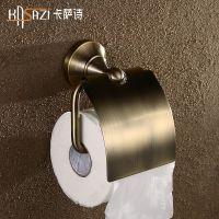 复古纸巾架 全铜厕纸架 卫生间卷纸架 批发创意手纸架 卫生间挂件