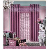 卧室飘窗窗帘 短帘遮光帘在线定做窗帘雪尼尔加厚