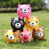 创意礼品实用批发正品吐舌头发声公仔可爱动物发泄减压儿童玩具
