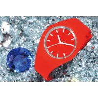 供应供应多颜色OEM塑胶手表 流行实色 透明色 斯沃琪swatch塑胶表