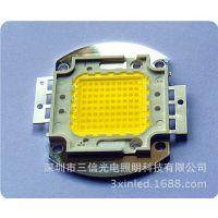 80W集成cob光源10串8并 正白6000k 采用光宏35芯片 价格优惠