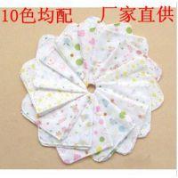 外贸单普通密度纱布手帕31*31cm 婴儿纯棉口水巾 儿童双层喂奶巾
