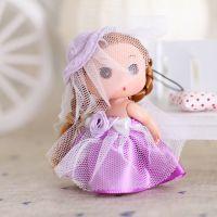 纱巾迷糊娃娃礼物批发 正品娃娃礼物 可爱迷糊娃娃挂件RX04-8cm