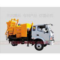 供应混凝土搅拌泵型号,搅拌车载泵价格,车载式搅拌拖泵一体机