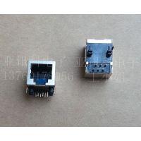 网络接口RJ45 母座55系列 PCB网络插座带灯网络插座下载传输RJ45