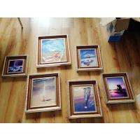 供应欧式装饰画照片墙6组合