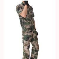 厂家定制新款数码迷彩服 长袖短袖长期库存现货军训丛林迷彩服