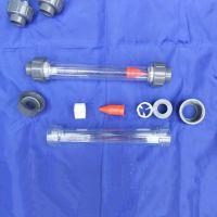 塑料管浮子流量计LZT-100S09 16-90m3h