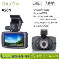 IRO羿龙A26N深圳咏96650方案记录仪厂家批发,1080P 30帧全高清