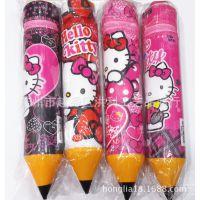 hellokitty迪士尼卡通笔形笔筒笔袋 圆筒拉链笔袋大号 学生奖品