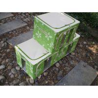 【厂家供应】防水防潮牛津布整理箱 花朵型折叠收纳箱