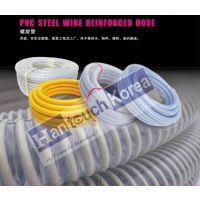 pvc钢丝增强管 pvc螺旋管 船厂吸砂管